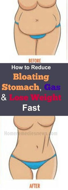 How to Reduce Bloating Stomach, Gas and Lose Weight Fast