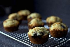 perfect blueberry muffins - adapted from the infallible cooks illustrated magazine
