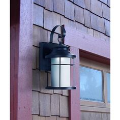 "Warburton 13"" High Black LED Outdoor Wall Light - #X1958 