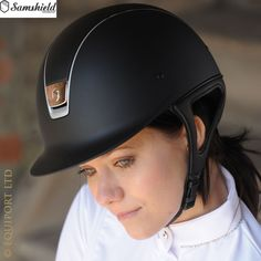 Samshield Shadowmatt Riding Helmet - Black - the Samshield Shadowmatt is an entry level Samshield helmet with matt coated shell and top panel. Equestrian Outfits, Equestrian Style, Horse Riding Helmets, How To Show Love, Show Jumping, Saddles, Clothes Horse, Dressage, Tack