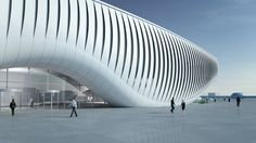 South Korea's One Ocean Expo pavilion will be completed May 2012.