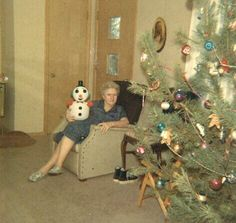 Grandma was always easy to shop for. Every year it was a styrofoam snowman and a pair of black Chuck Taylors.