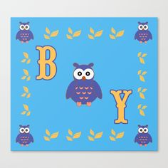 30% Off Wall Art - Ends Tonight at Midnight PT! Owl Baby Boy Canvas Print. #owl #baby #canvasprint #babyboy #babyshower #sale #deals #discount #sales #kids #home #homedecor #cool #awesome #gifts #giftideas #39 #giftsforhim #giftsforher #family #home #babyroom #blue #popular #popart #onlineshopping #shopping #animals #funny #cute #fairytale #itsaboy #society6 #scardesign #newborn #mommy #homegifts #daddy #babygifts