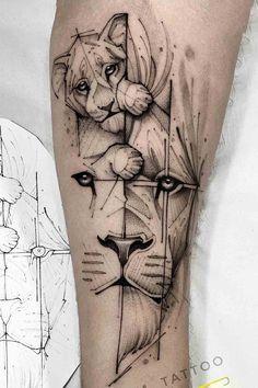 Mommy Tattoos, Lion Head Tattoos, Forarm Tattoos, Mother Tattoos, Arrow Tattoos, Body Art Tattoos, Tatoos, Baby Tattoo Designs, Lion Tattoo Design