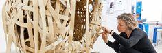 Fondazione Casoli for Elica. Ceiling Lights, Handmade, Crafts, Sissi, Design, Random, Style, Art, Swag