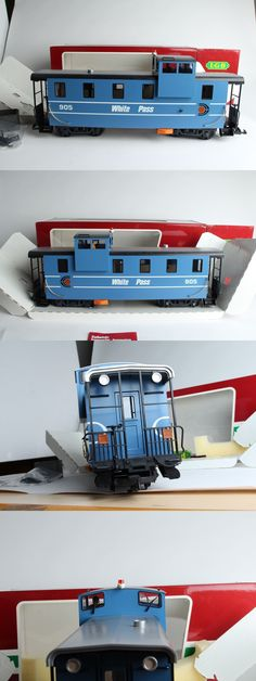 Passenger Cars 122575: Lgb 4701 - White Pass And Yukon Route Blue Extended Vision Caboose (Never Ran,Nib) -> BUY IT NOW ONLY: $169.99 on eBay!