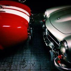 Cobra & Mercedes 300SL