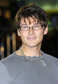 Morten Harket (singer of a-ha)  a-ha posters were once on my wall...