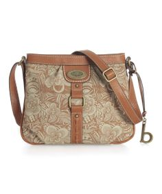 Gray Glenton Mini Crossbody Bag