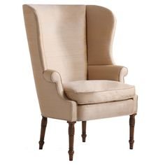 Winterthur Wing Chair - would love to do something with this chair!