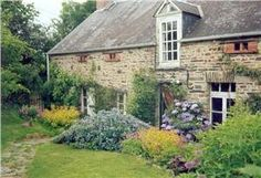 Charming old stone cottage with pretty garden.