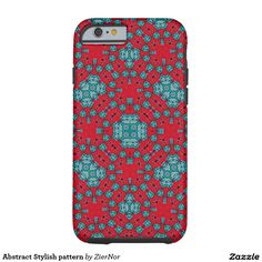 Abstract Stylish pattern Tough iPhone 6 Case