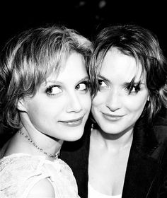 Brittany Murphy and Winona Ryder