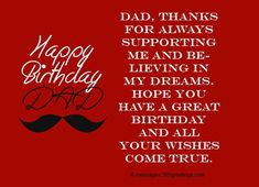 84 best happy birthday wishes for father images on pinterest in 2018 birthday wishes for dad m4hsunfo