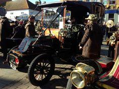 London to Brighton Veteran Car run 2013 in Crawley