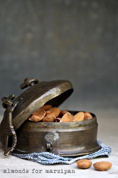 Mandeln für Marzipan