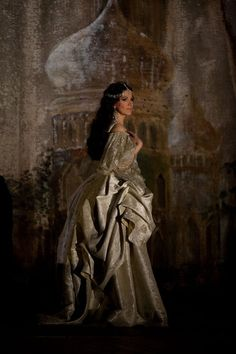 Angela Gheorghiu in Adrianna Lecouveur. 18th Century French.