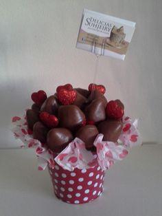 Fresas con chocolate                                                                                                                                                                                 Más