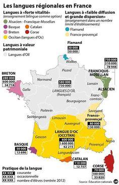 Llengües a França