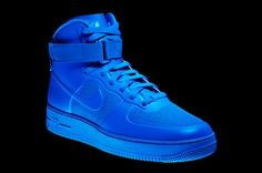 Nike AIR FORCE 1 Hi HYPERFUSE - blue