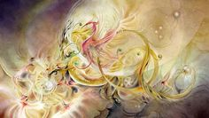 Stephanie Pui-Mun Law is one of my favorite fantasy artists. She's done some covers for SF books. If you like fantasy art, please visit her site: shadowscapes.com. You won't be disappointed. This is Dragon Pearl, originally done in watercolor.