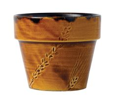 Dudson Harvest Brown Tall Pot 4 1/8 10.6cm #cateringcrockery #dudsonharvest #tallpot #browntallpot #ronefordcatering