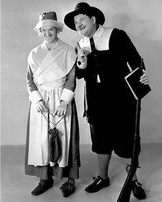 Laurel & Hardy Thanksgiving