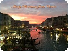 Merry Christmas from Venice!