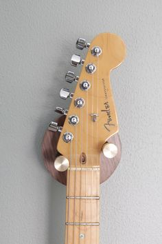 guitar wall mount with drawer pulls
