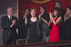The lovely Carol Burnett greets the enthusiastic crowd gathered at the Kennedy Center to celebrate her Mark Twain Prize honor. (Photo: Scott Suchman)