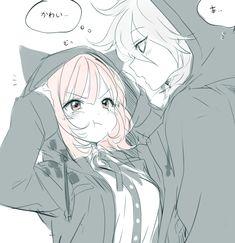 Nanami chiaki-Danganronpa uploaded by IɴΘƦί ÐÂƦκ Anime Neko, Otaku Anime, Kawaii Anime, Fanarts Anime, Manga Anime, Manga Couples, Cute Anime Couples, Anime Cosplay, Image Couple
