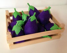 Pretend Play Felt Food Potatoes Small / Large / by mummymadeitme