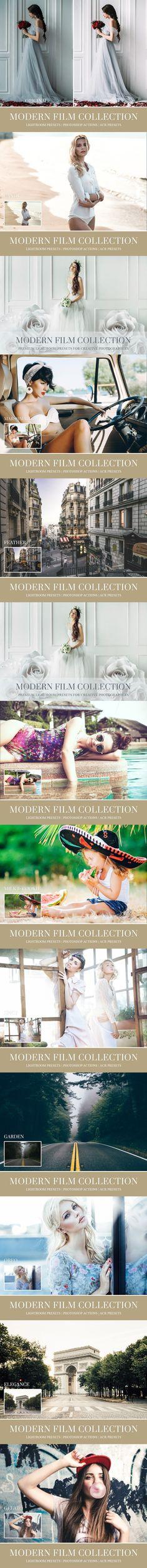 Modern Film Lightroom presets. Photoshop Actions. $19.00