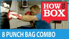 An 8 Punch Combo on the Bag. This video and more at our YouTube Channel http://www.youtube.com/user/sneakpunchcom