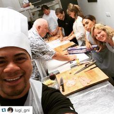 Merci de votre visite  thanks for coming ! @lugi_gni a real #cooking #chef !!
