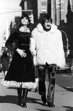Sonny and Cher, 1968.