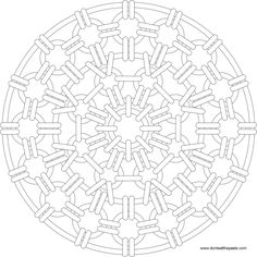 Chain mail mandala to color- large Pattern Coloring Pages, Printable Adult Coloring Pages, Mandala Coloring Pages, Free Coloring Pages, Coloring Sheets, Coloring Books, Zentangle, Doodle Pages, Doodle Art