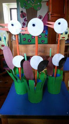 K Crafts, Puppet Crafts, Bird Crafts, Cute Crafts, Preschool Crafts, Fall Crafts For Kids, Spring Crafts, Projects For Kids, Diy For Kids