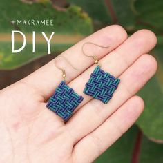 Home Cratfs - Welcome Crafts Home Macrame Earrings Tutorial, Macrame Bracelet Patterns, Macrame Bracelet Tutorial, Earring Tutorial, Macrame Patterns, Macrame Jewelry, Diy Crafts Jewelry, Bracelet Crafts, Diy Bracelets Easy