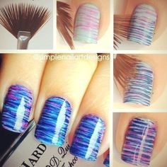 Fun and easy nail design!
