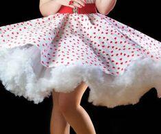 Petticoats / Underskirts by Wagtails Dancewear Frilly Dresses, Pretty Dresses, Beautiful Dresses, Rockabilly Style, Petticoat Junction, Frou Frou, Pink Princess, 50 Fashion, Petticoats