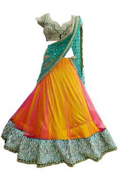 Half sari..!!!