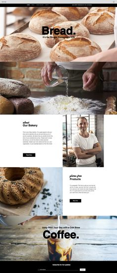 The Bread Shop | Website Template