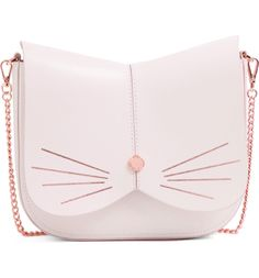 Ted Baker London Cat Leather Crossbody Bag – Purses And Handbags Crossbody Ted Baker Tasche, Ted Baker Backpack, Leather Crossbody Bag, Leather Bag, Leather Purses, Grey Leather, Sacs Design, Cat Bag, Accessories