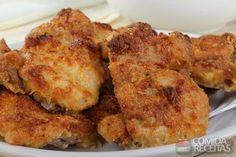 Receita de Sobrecoxa de frango crocante - Comida e Receitas                                                                                                                                                                                 Mais
