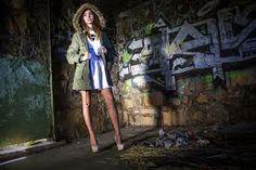 abandoned location fashion shoot - Google Search Abandoned Warehouse, Fashion Shoot, Beauty, Coat, Jackets, Beautiful, Calendar, Google Search, Style