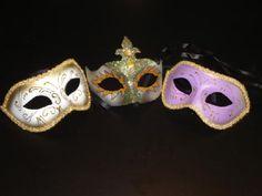Máscara De Fibra De Led Para Mujeres Veneciano Masquerade elaborado vestido de princesa de fiesta plumas 9