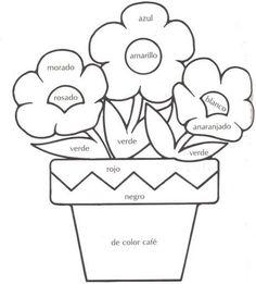pintar los colores fichas infantiles para aprender los colores imprimir gratis para niños