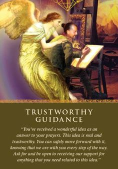 Oracle Card Trustworthy Guidance | Doreen Virtue | official Angel Therapy Web site