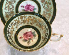 Paragon rose vintage tea cup